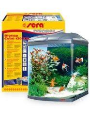 SERA Biotop Cube 130 XXL édesvízi akvárium szett